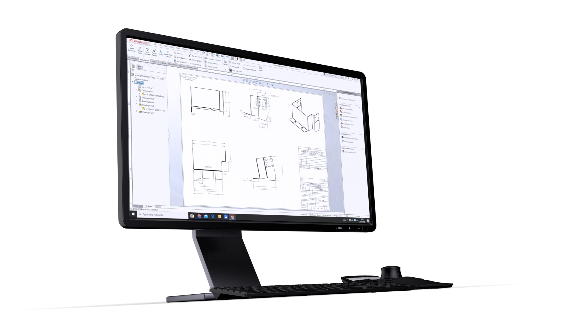 Sheet Metal Drawings Services Hdl Cad Solutions